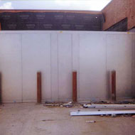 Walk-In Contruction: Wall Constructed